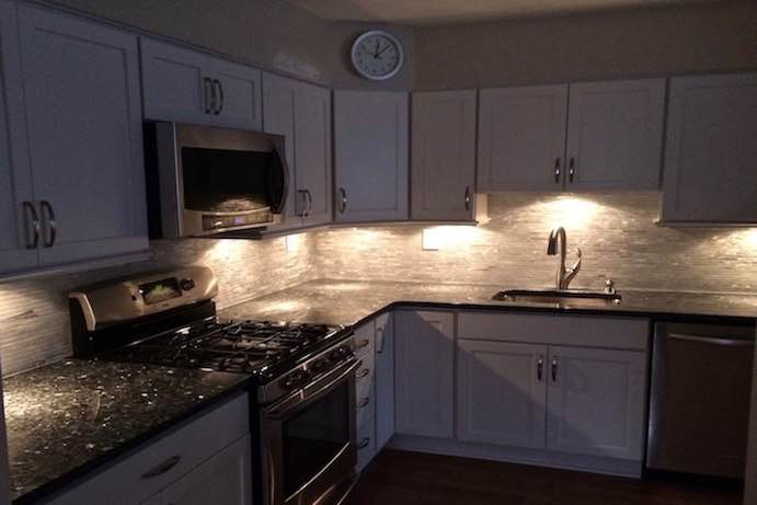 Under Cabinet Lighting | Lafayette Hill Remodelers | Worthy ...
